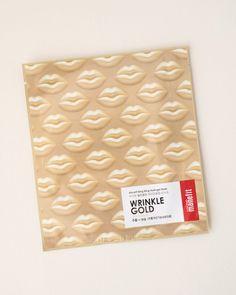 MANEFIT Bling Bling Hydro Gel Mask - Wrinkle Gold