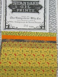 Oil prints were nostalgic repros from about 1880 to the 1940s. Some yellows were not chrome yellow and they bleed.