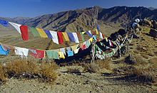 Traditionally, prayer flags are used to promote peace, compassion, strength, and wisdom.