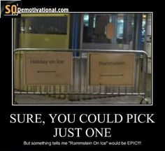Rammstein Funny | SURE, YOU COULD PICK JUST ONE
