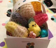 Crochet Easter Eggs #easter