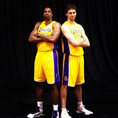 Twin Towers #Lakers