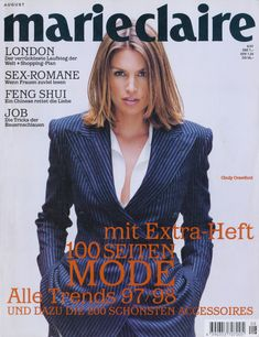 Picture of Cindy Crawford Cindy Crawford, Long Bob Cuts, Trends, London, Marie Claire, Most Beautiful Women, Old And New, Cover, Hair