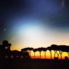 @kubiktak in instagram #parcodegliacquedotti #nottourists #nottouristy #nottouristyrome #photo #photographer #sunset #günbatımı #roma #instaroma #güneş #tramonto