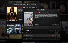New Netflix iPad Movie/Show Modal