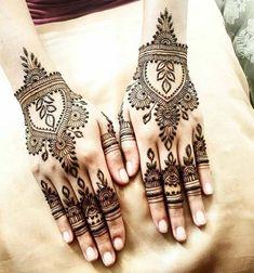 Simple Mehndi Design Ideas