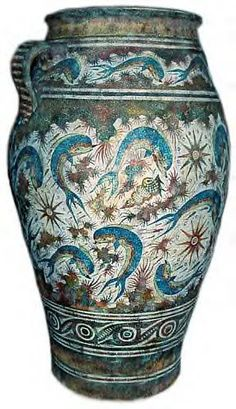 "Minoan pottery ~ Dolphin vase"" data-componentType=""MODAL_PIN"