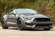 """For Sale: 2017 Ford Mustang Shelby GT350 (Magnetic, 5.2L """"Voodoo"""" V8, 6-speed, 3200 miles)"""