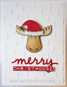 Heart's Delight Cards: Merry Christmoose - Holiday Sneak Peek