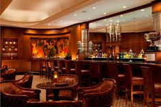 Sazerac Bar at The Roosevelt Hotel in New Orleans, is notoriously named after the world's first branded cocktail and will make you feel transported to old New Orleans. Check out our bar guide to New Orleans here.