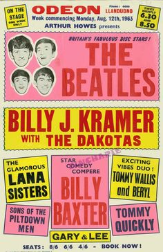 1960's concert posters - Google Search
