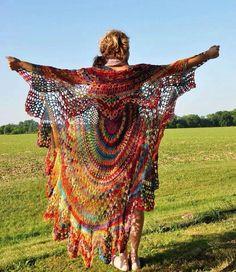 Bohemian gypsy shawl