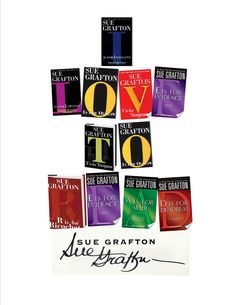 In memory of Sue Grafton. The Alphabet ends with Y.
