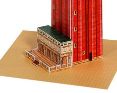 Venice Campanile  St Mark's bell tower paper by PaperLandmarks