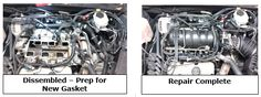 2of2 #BuickRepair in Pensacola at Car Clinic #AutoService Shop   477-9480 Diagnosis: Tech pressure tested cooling system to find upper intake manifold leaking coolant at the gasket. Treatment: Disassembled intake manifold to point of failure. Cleaned mating surfaces on both upper intake & lower intake assembly. Installed new upper plenum gasket & performed PreRepair® Cooling Sys Service. Brought vehicle to proper operating temp. Checked for leaks; none found. Repair complete.