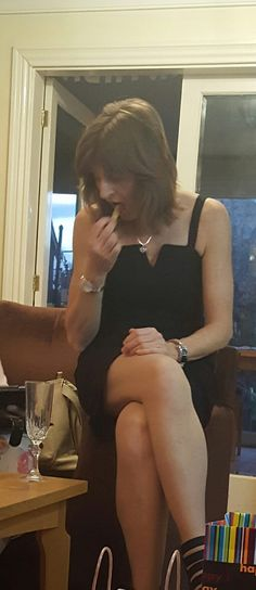 Karen Crossed legs