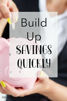 You've set yourself a savings goal but now to reach it. Here are some great ideas for building your savings.