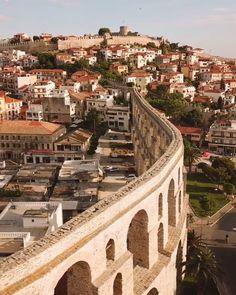 Καβάλα! Kavala, central Macedonia. Greece! Greece Vacation, Greece Travel, Mykonos, Santorini, Greece House, Macedonia Greece, Best Cities, Athens, Paris Skyline