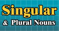 In this amazing educational video, we introduce singular and plural nouns. There are many rules for forming plural forms of nouns, and at times, no rules. This is