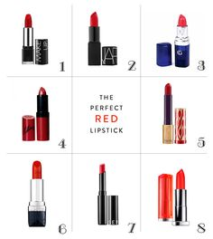 The Perfect Red Lipsticks