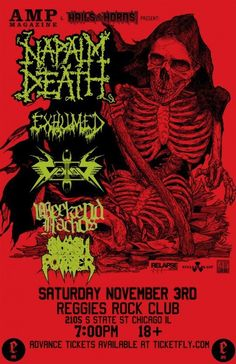 Napalm Death, Vektor, Weekend Nachos?!?!