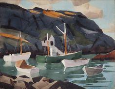 Boats of Monhegan James Fitzgerald, Boat, Painting, Image, Dinghy, Painting Art, Boats, Paintings, Painted Canvas