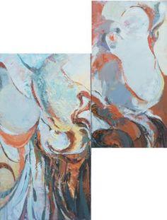 """Saatchi arte artista María Nika Yakovleva;  Pintura #art, """"El cambio"""""""
