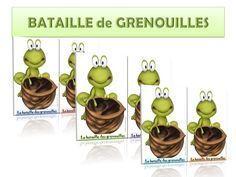 ATELIER CALCUL – BATAILLE de GRENOUILLES – ReCreatisse
