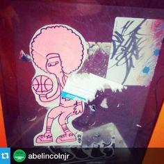 @abelincolnjr wit @drvnyc ・・・Yeah…. I know #abelincolnjr #ssc #secretstickerclub #elc #writedevil #damnimgood