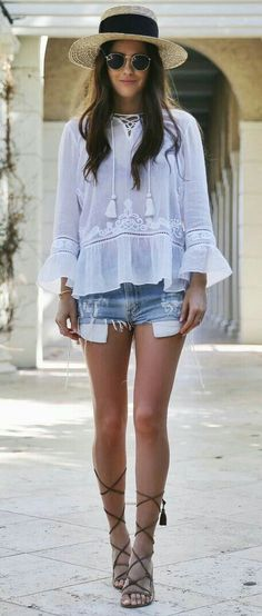 bohemian dream in this outfit! so cute for spring!
