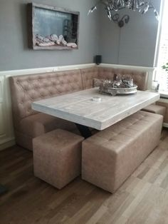18 best eettafel en eetbank images on Pinterest | Kitchen dining ...