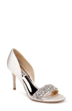 Ivy Embellished Evening Shoe by Badgley Mischka now available on the official website with free shipping