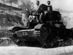 Uno republicano en Belchite: Armamento Guerra Civil Española [VOL 1] Tanques - [Aviso: Tocho Inside] +Muchas Fotos - ForoCoches