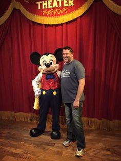 NASCAR driver & owner Tony Stewart with Mickey -- February 17,2015