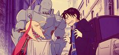 Fullmetal Alchemist: Brotherhood. This part was so funny. I was laughing so hard, my family thought I was crying. (gif)