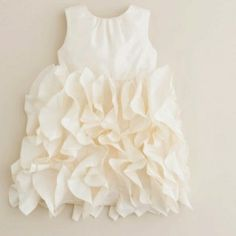 Beautiful baby dress for a flower girl