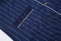 2de7983378 Yuzhenli Men s Pajamas Autumn Long Sleeve 100% Cotton Pyjamas Sleepwear Male  Stripe Lounge Pajama Sets Plus size Nightwear 3XL