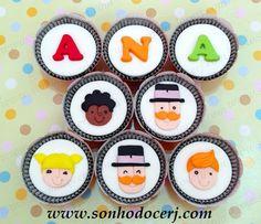 Cupcakes Mundo Bita!  curta nossa página no Facebook: www.facebook.com/sonhodocerj