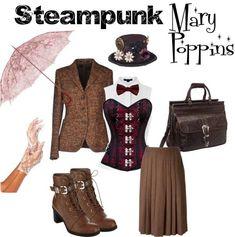 Steampunk Mary Poppins