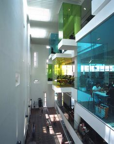 Library Design | Library Interior | Bishan Public Library | Translucent pods of intrigue with beautiful subtle colours....