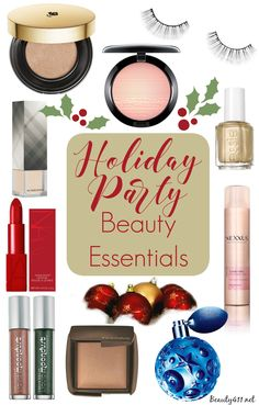 Holiday Party Makeup & Beauty Essentials!