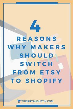 Says etsy is a great starter, spotify helps you start your own online store.