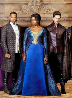 Still Star Crossed — Prince Escalus, Rosaline Capulet, and Benvolio...