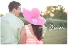 Equestrian Engagement Session // Designs by Karinda // Montgomery,TX Photography // Engagement Session // Kentucky Derby Inspired Engagement Session #montgomerytxphotography #woodlandsbride #equestrian #engagementsession #derbystyle #monogram #equine #oldenberg #warmblood #dapples #bighat