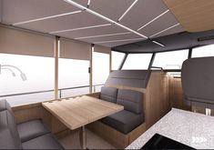 Vik-boat on Behance Small Diesel Generator, Small Yachts, Shower Cabin, Boat Projects, Electric Motor, Solar Panels, Industrial Design, Behance, Boats