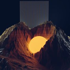 "cinemagorgeous: ""Mind-bending imagery by artist Bola Ogunjobi. Graphic Design Illustration, Graphic Design Art, Illustration Art, 3d Video, Hyperrealism, Fantasy Landscape, Graphic Design Inspiration, Daily Inspiration, Aesthetic Art"