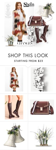 """""""shein 4"""" by aida-1999 ❤ liked on Polyvore featuring Élitis and National Tree Company"""