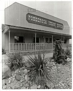 1970's Ponderosa steak house. One was located on Broadview Rd., now it is the Parma Tavern.