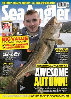 Sea Angler Issue 563 Carp Fishing, Fishing Boats, Sea Angling, Fishing Magazines, Boat Kits, Bass Boat, Silver Surfer