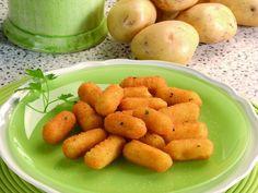 Cazzilli - Crochette di patate : Scopri come preparare questa deliziosa ricetta. Facile, gustosa e adatta ad ogni occasione. Questo contorno ha un tempo di preparazione di 45 minuti.
